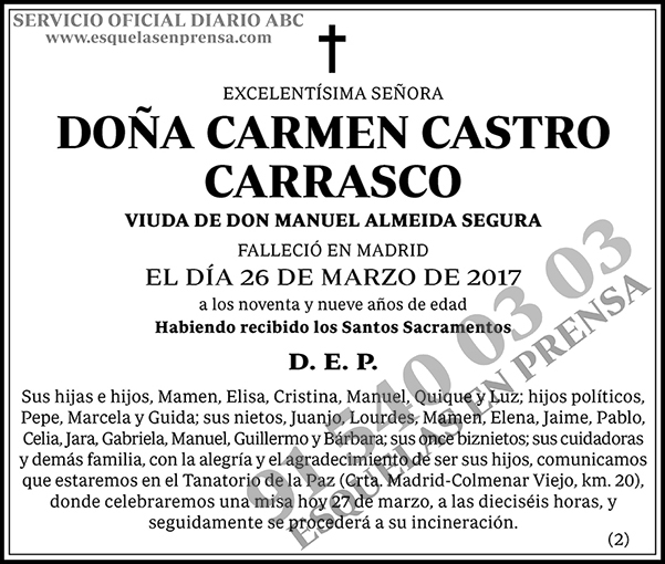 Carmen Castro Carrasco